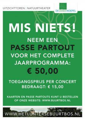 Passe Partout 2017 @ Uitkijktoren/Natuurtheater De Koepel