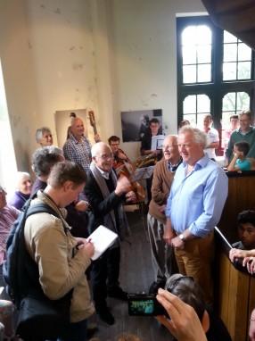 Peter Zuurbier bevraagd Bert Andree en Herman van de Kaa