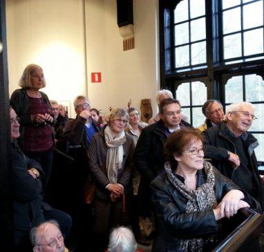 Het aandachtige publiek vond het prachtig.
