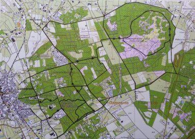 Ruiterpaden rond het Middelpunt van Nederland