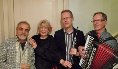 Romantische wereldmuziek met kwartet Rose-île @ Uitkijktoren/Natuurtheater De Koepel