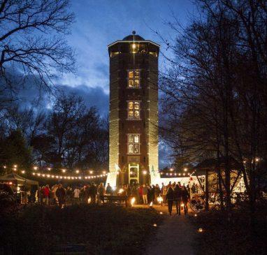 """Kerst rond de Koepel dit jaar met het thema """"Hart"""" @ Uitkijktoren De Koepel"""