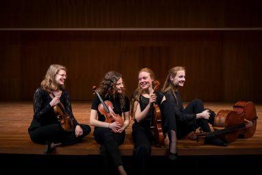 NJO Muziekzomer presenteert het Helikon Strijkkwartet @ Uitkijktoren De Koepel