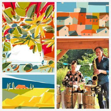 """Opening expositie """"iPad Art"""" @ Uitkijktoren De Koepel"""